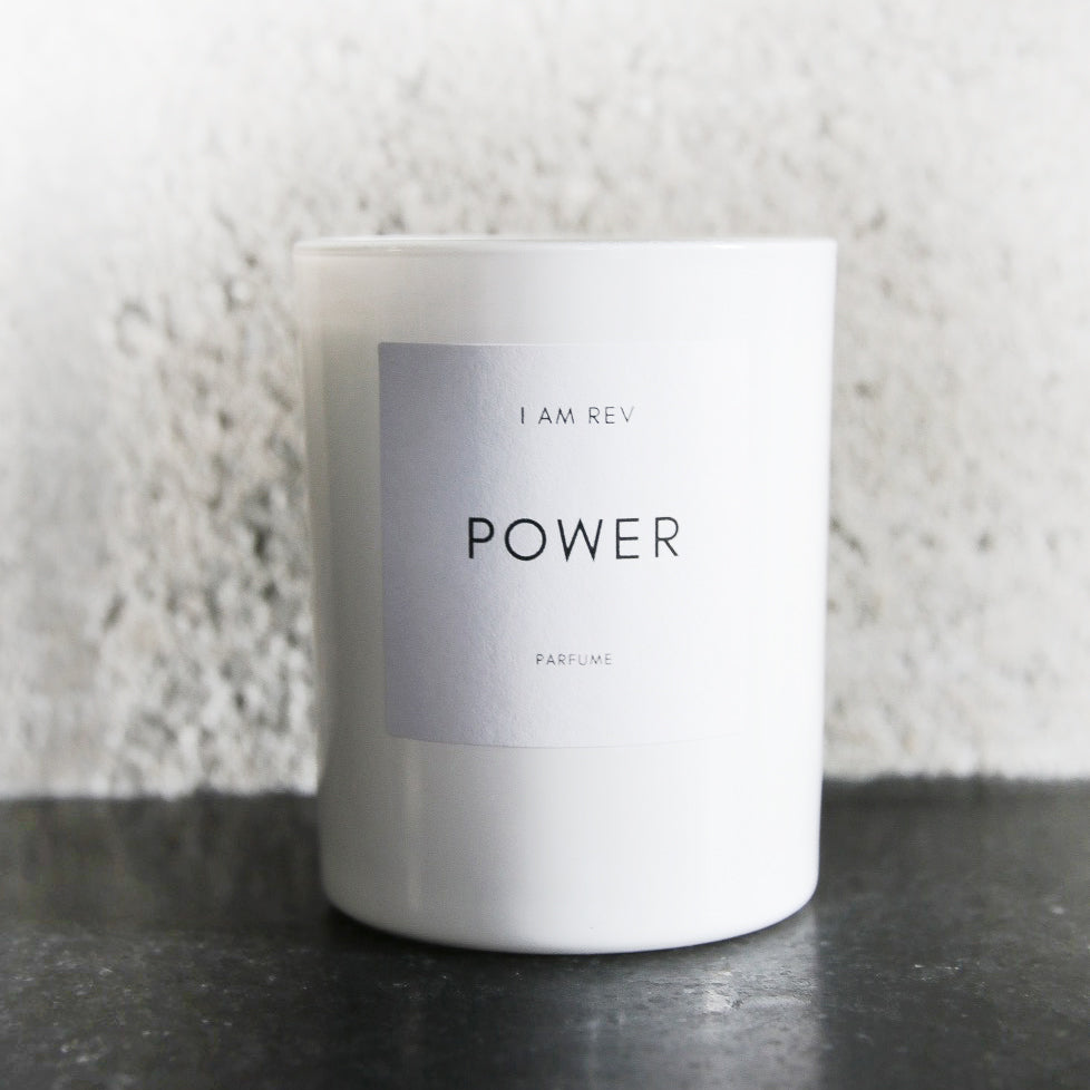 POWER, white