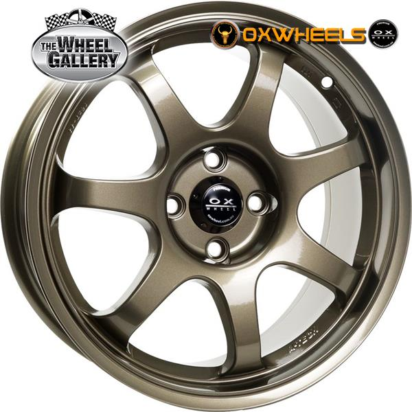 OXWHEELS OX789 BRONZE 16x7  +40 WHEEL