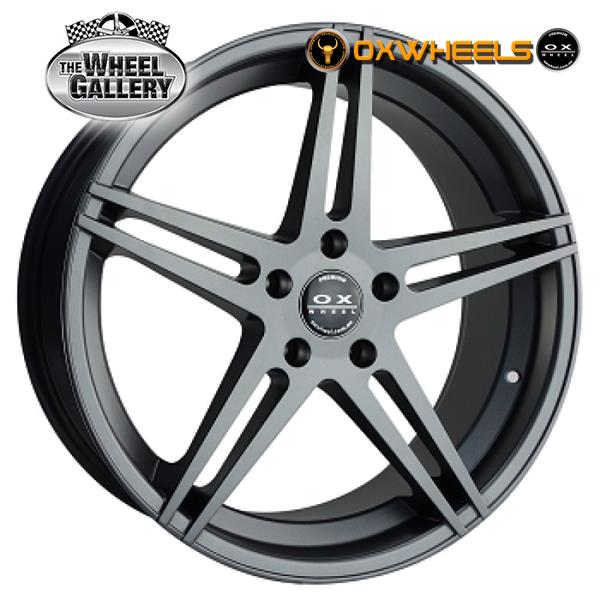 OXWHEELS OX848 GUN METAL 17x8  +40 WHEEL