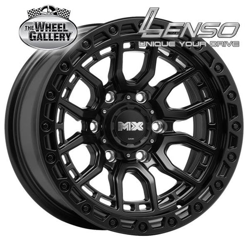 LENSO MX-AMURO SATIN BLACK 16x8.5 6/139.7  +0 WHEEL