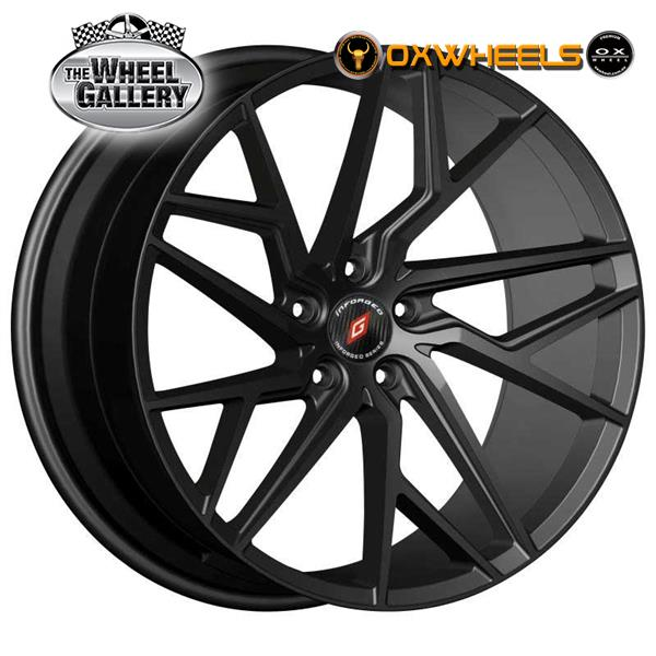 OXWHEELS IFG44 GLOSS BLACK 18x8  +20 WHEEL