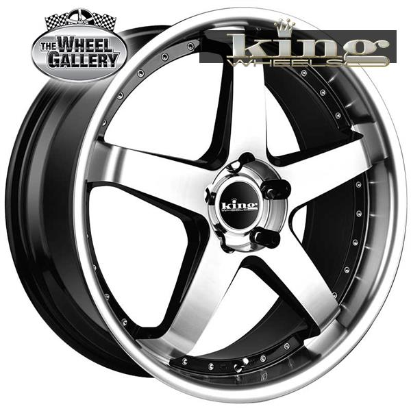 KING DETROIT MACHINED FACE 18x8 5/114.3  +35 WHEEL