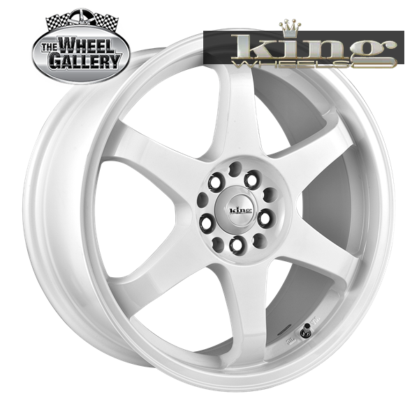KING KATANA WHITE 16x7 4/100  +40 WHEEL