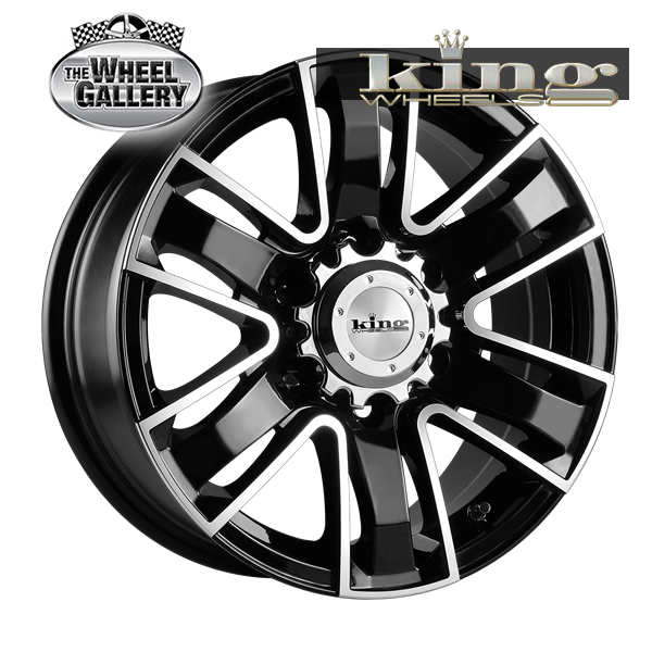 KING ROK ROK MACHINED 16x7 5/114.3  +35 WHEEL