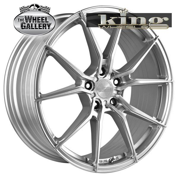 KING VENOM SILVER BRUSHED 19x8 5/112  +40 WHEEL