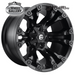 FUEL D560 VAPOR MATTE BLACK 20x9 5/150  +35 WHEEL