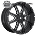 FUEL D610 MAVERICK GLOSS BLACK MILLED 18x9 6/135  +13 WHEEL