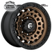 FUEL D634 ZEPHYR MATTE BRONZE BLACK BEAD RING 20x9 6/139.7  +20 WHEEL