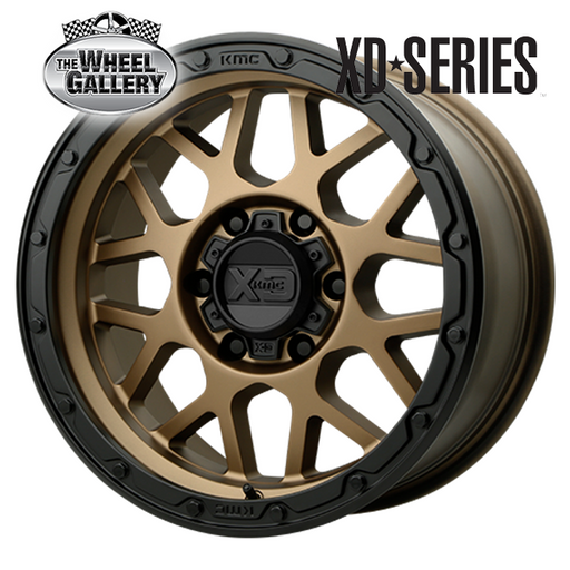 XD WHEELS XD135 GRENADE OR MBMBL 18x0 6/139.7  +0 WHEEL