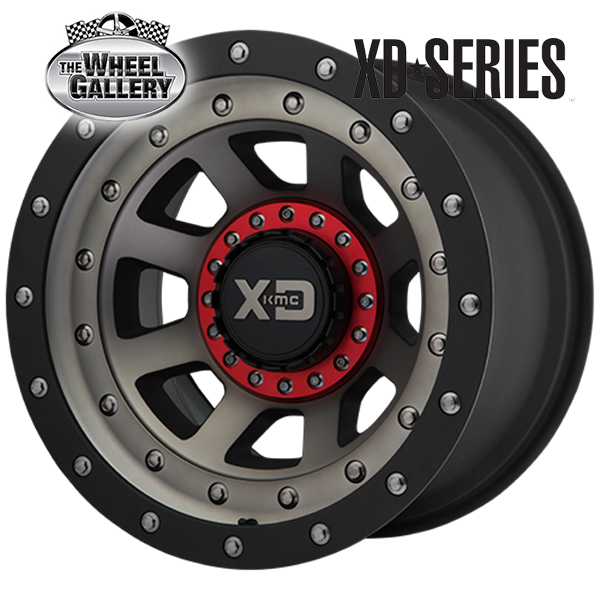 XD WHEELS XD137 FMJ SATIN BLACK DARK TINT 20x9 6/135  +0 WHEEL