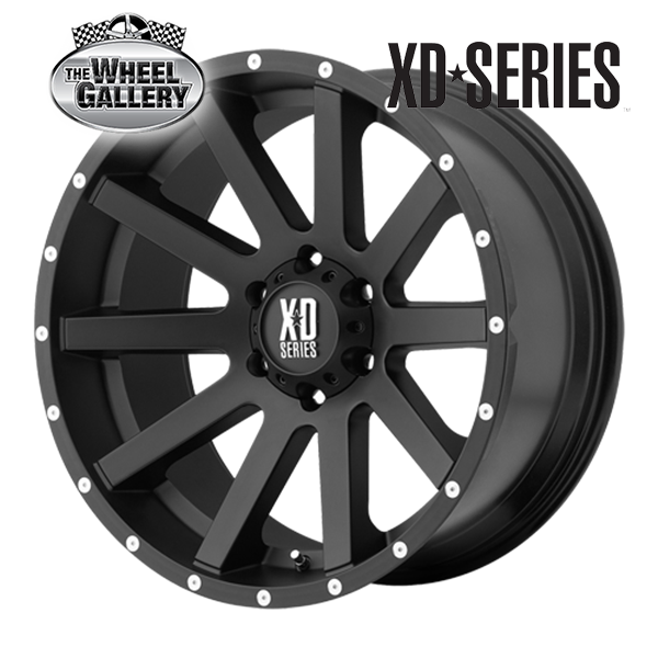 XD Wheels XD818 HEIST 16'' 17'' 18'' 20'' Wheels
