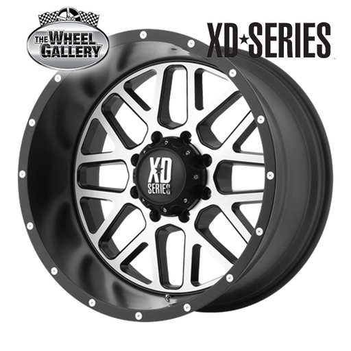 XD WHEELS XD820 GRENADE SBMF 16x7 5/160  +42 WHEEL
