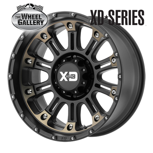 XD WHEELS XD829 HOSS II SBMDT 17x9 5/139.7  +12 WHEEL