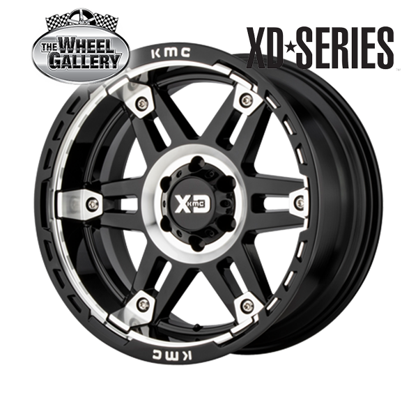 XD Wheels XD840 SPY II 17'' 20'' Wheels