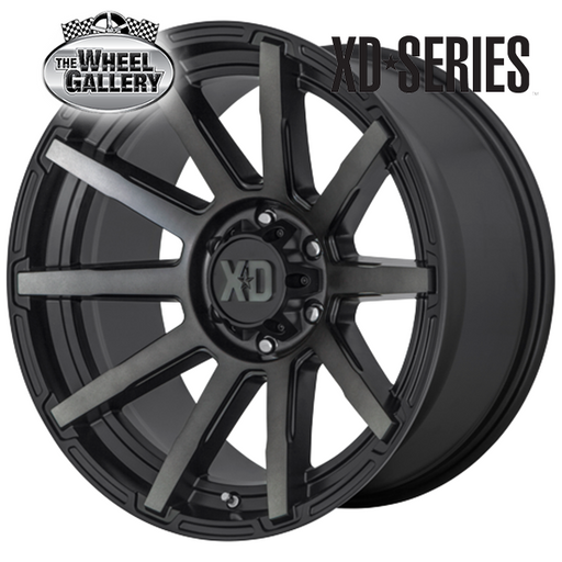 XD WHEELS XD847 OUTBREAK SBWGT 20x9 6/114.3  +30 WHEEL