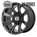 XD WHEELS XD854 REACTOR GLOSS BLACK MILLED 20x9 6/114.3  +18 WHEEL