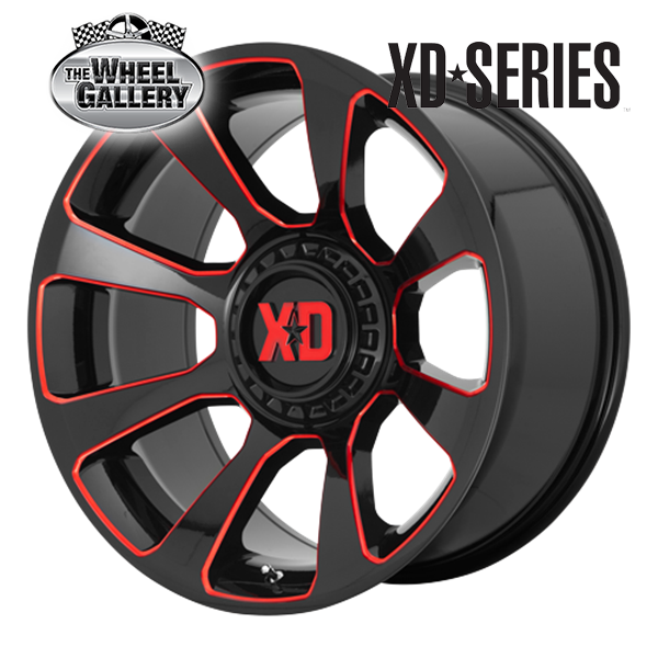 XD Wheels XD854 REACTOR 20'' Wheels