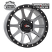 OFFROAD ARMOUR GRINDER SGWSBL 17x9 6/139.7  +18 WHEEL