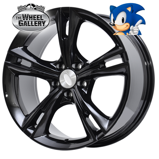 SONIC 335 GLOSS BLACK 19x8.5 5/114.3  +36 WHEEL