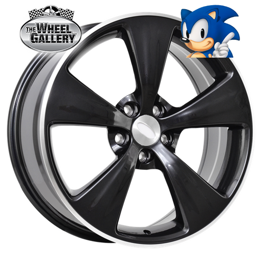 SONIC AGENT DARK GREY 19x8 5/114.3  +36 WHEEL