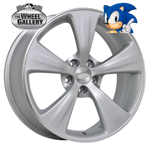 SONIC AGENT SILVER 19x8 5/114.3  +36 WHEEL