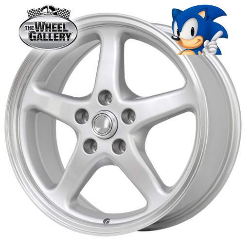 SONIC RUNNERS SILVER 20x8.5 5/120  +45 WHEEL
