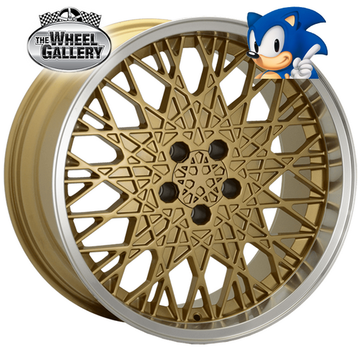 SONIC SNOW GOLD 19x8 5/114.3  +7 WHEEL