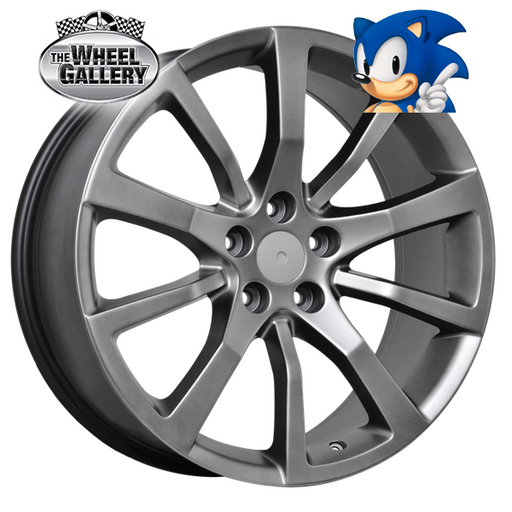 SONIC SV WHEELS SHADOW CHROME 20x8.5 5/120  +36 WHEEL