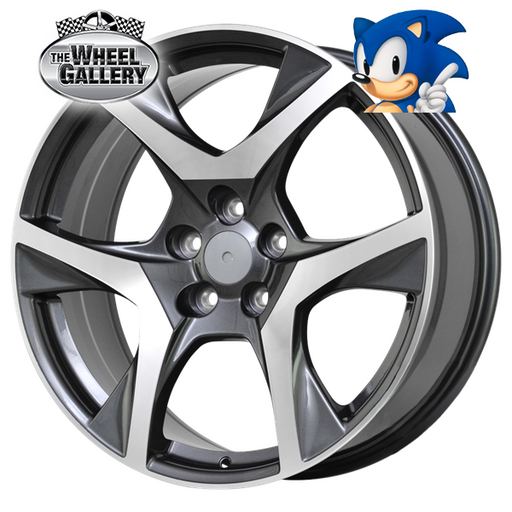 SONIC VF R8 GREY 20x8.5 5/120  +42 WHEEL