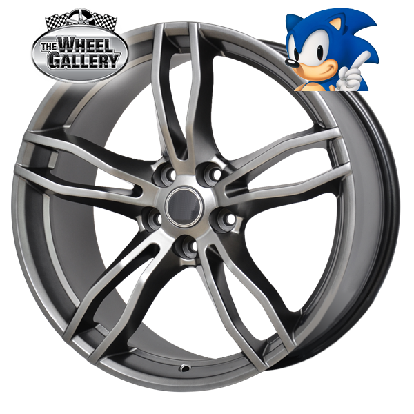 SONIC VF RAPIER SHADOW CHROME 20x8.5 5/120  +36 WHEEL