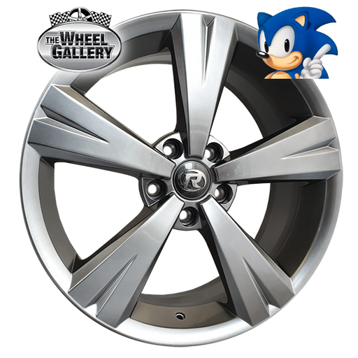 SONIC VX GTS SHADOW CHROME 19x8 5/120  +45 WHEEL