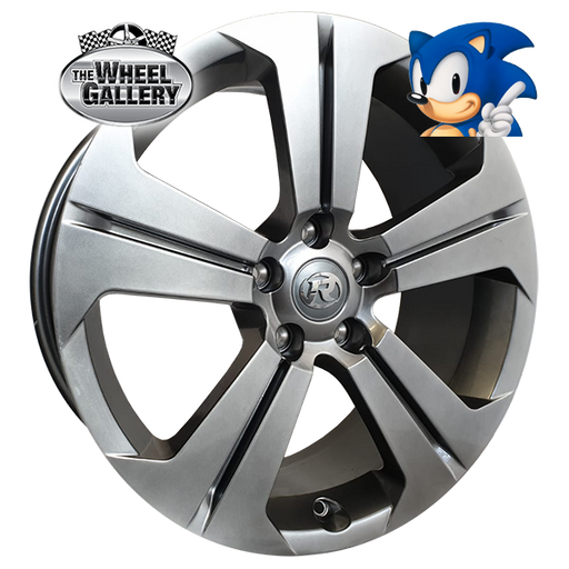 SONIC VY GTS SHADOW CHROME 19x8 5/120  +45 WHEEL