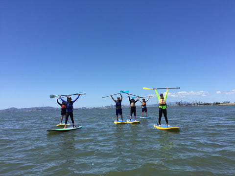 Mike's Paddle SUP Party