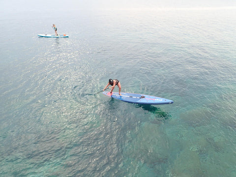 SUP in Croatia, Victoria Anweiler, Mike's Paddle Programs Director