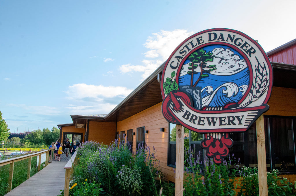 Endeavor Pass Castle Danger Brewing Brewery Taproom North Shore Minnesota Two harbors
