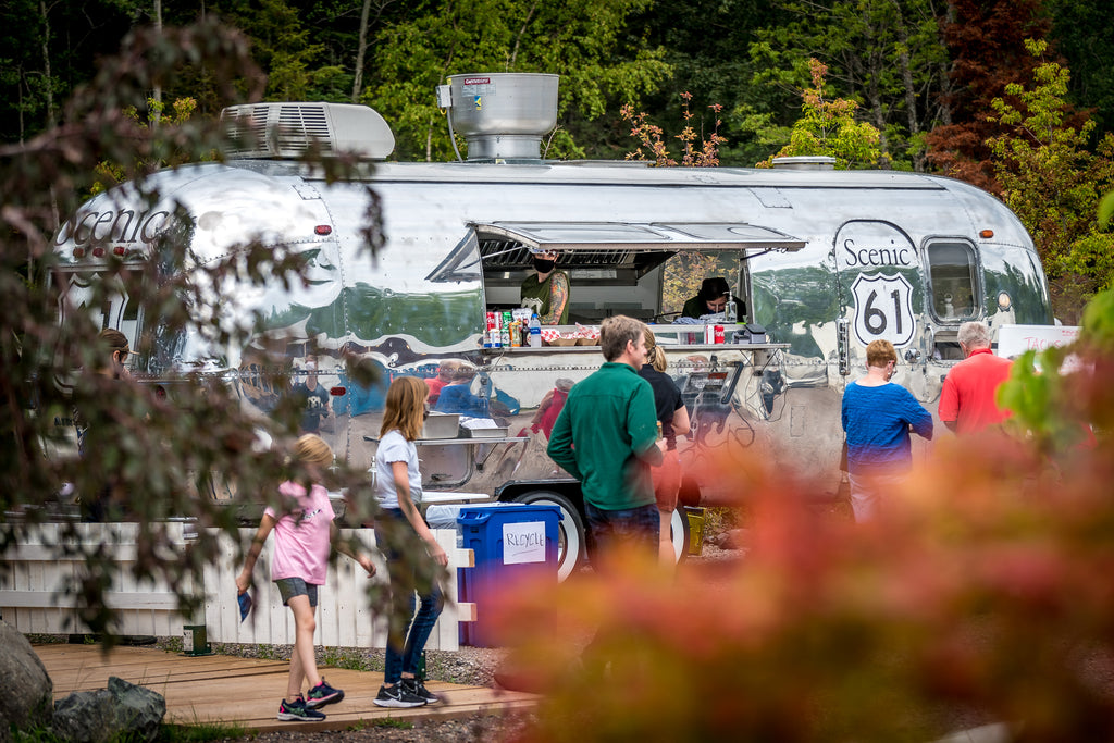 Scenic 61 Mobile Kitchen Food Truck North Shore Minnesota New Scenic Cafe Endeavor Pass MN