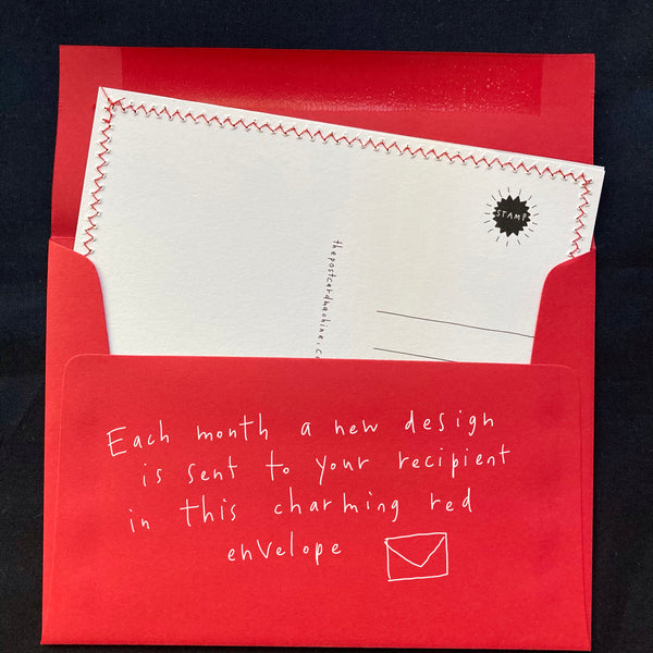 Postcard Gift Subscription: Socially Distant