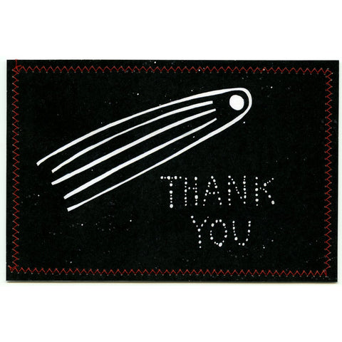 Thank You Postcard (Shooting Star)