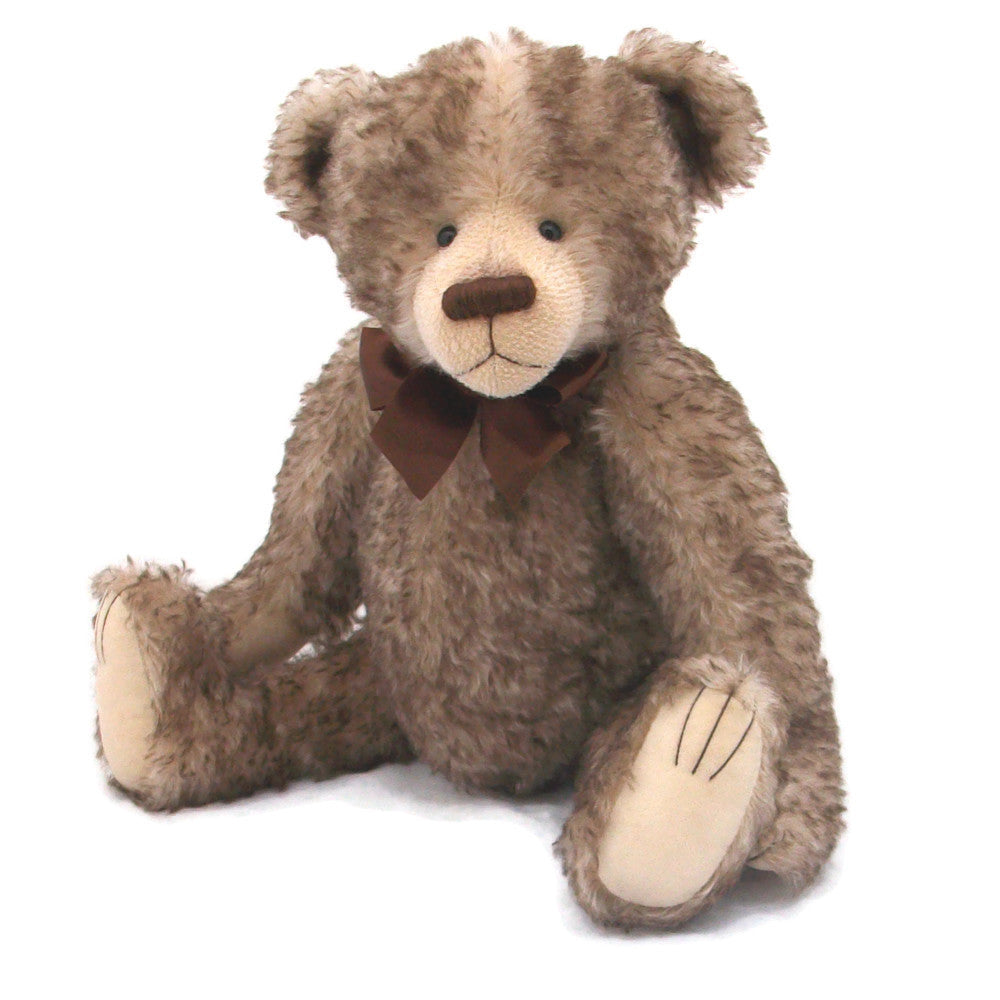 Steiff Schulte tipped brown mohair teddy bear