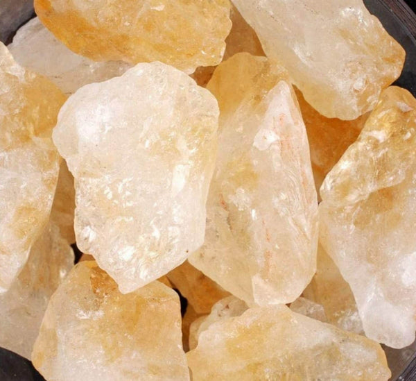 Citrine Natural Genuine Raw Rough Crystal LARGE about 1.5 inch 1 pc