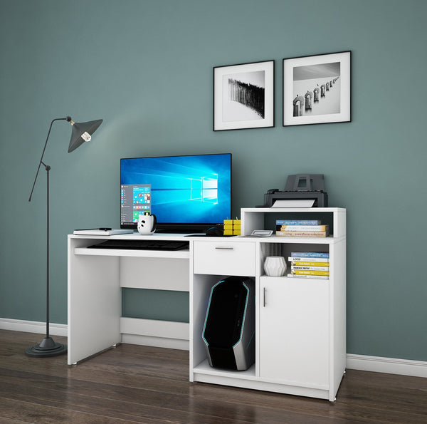 Volvur Study Table in White Colour by Dream Box