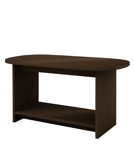 Zeno Coffee Table in African oak Finish by Wood You