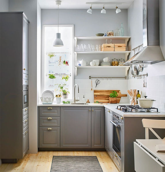 L Shaped Kitchen Inspired by Bliss Kitchen