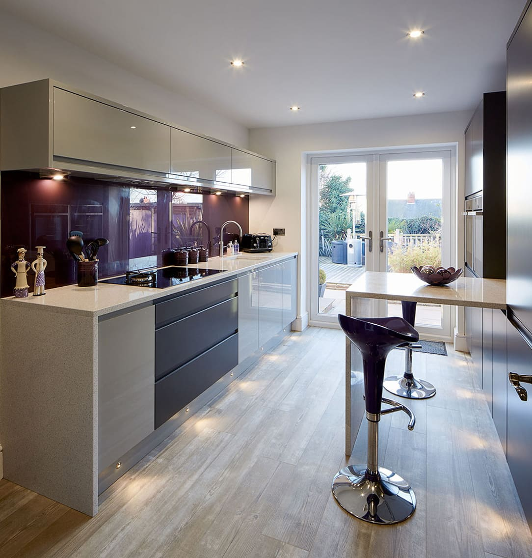 Inline Shaped Kitchen Inspired by Bliss Kitchen