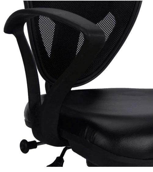 Glove Ergonomic Chair in Black Colour By Durian