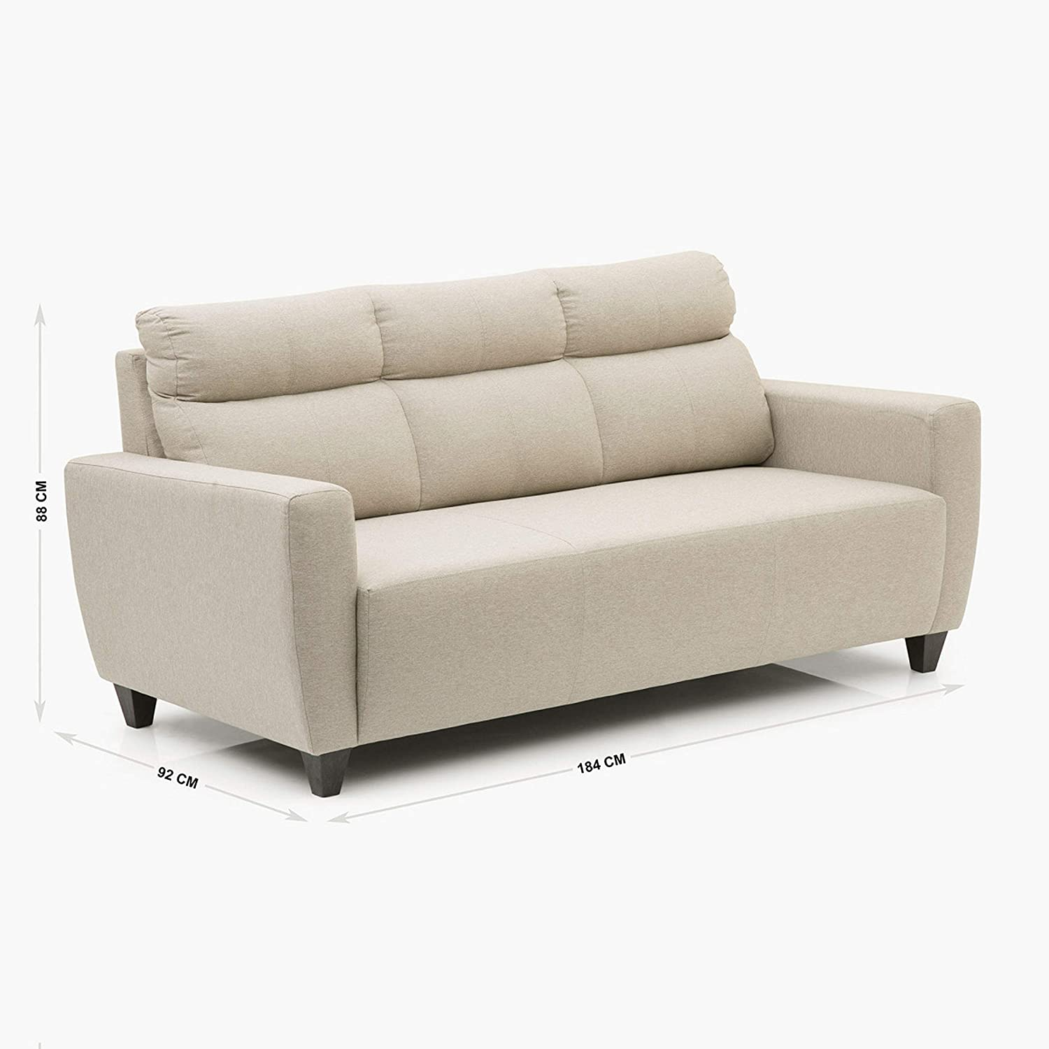 HM Emily 3+2 Sofa Set - Beige Colour