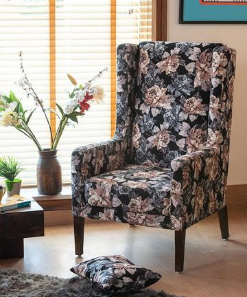 Europea October Wing Chair in Floral Colour