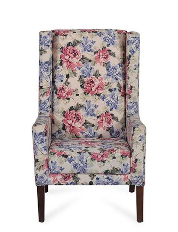 Europea March Wing Chair in Floral Colour