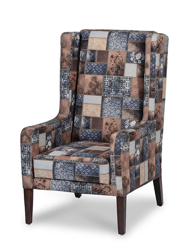 Europea Scott Wing Chair in Multi Colour
