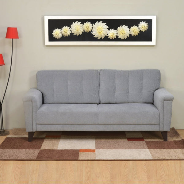 Jerry Sofa Set in Grey Colour by Homies